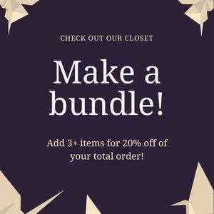 Bundle Deals!